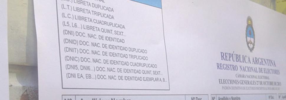 Corrientes : ya se puede consultar el padron online