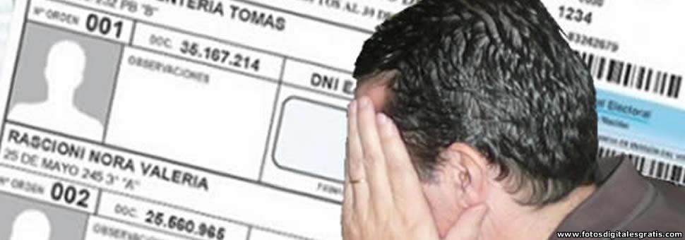 Error : Un hombre que murió hace 19 años sigue apareciendo en el padrón electoral de Salta