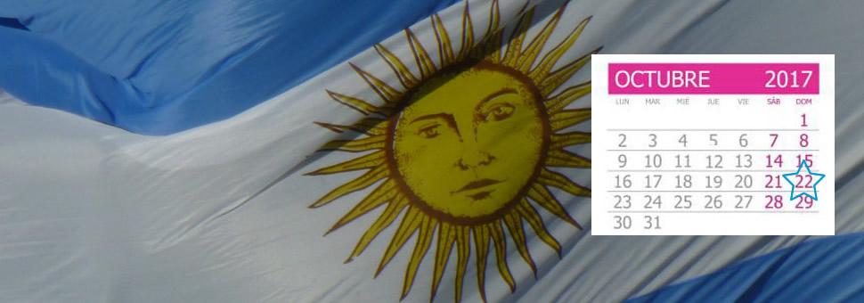 Calendario Electoral Elecciones Argentina 2017
