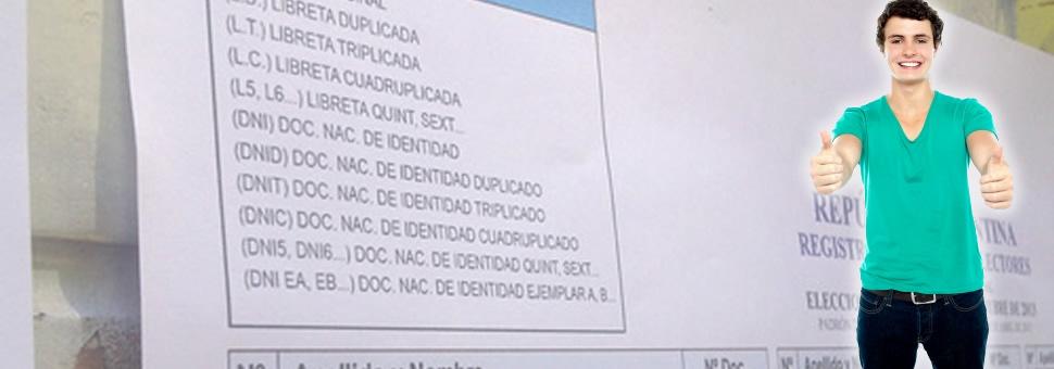 Voto Jóven : Mendoza, entre las provincias con menos voto de menores de 18